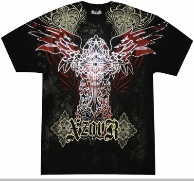 "Xzavier ""Holy Spirit"" T-Shirt (Black)<!-- Click to Enlarge-->"