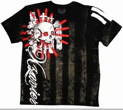 "Xzavier ""Inkfected"" Men's T-Shirt (Black)<!-- Click to Enlarge-->"