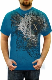 "Xzavier ""Lincoln"" T-Shirt (Turquoise)"