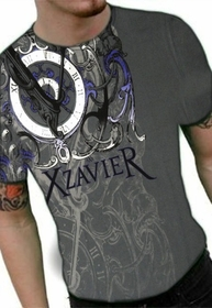 "Xzavier ""Only Time Will Tell"" T-Shirt (Charcoal)"