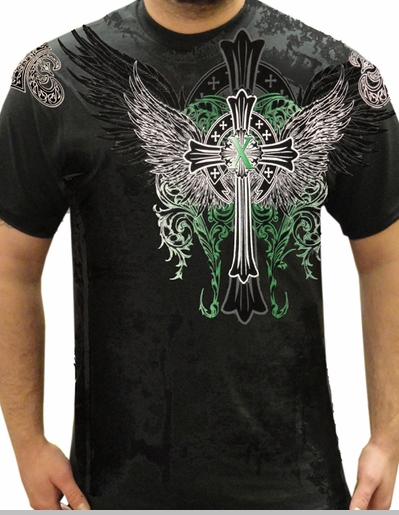 "Xzavier ""Rebuilt On Tradition"" T-Shirt (Black)<!-- Click to Enlarge-->"