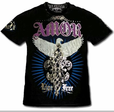"Xzavier SFX ""Majestic Eagle"" T-Shirt<!-- Click to Enlarge-->"