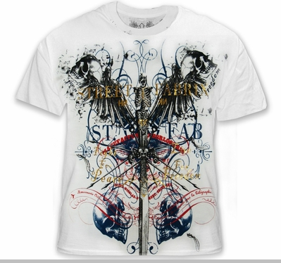 "Xzavier SFX ""Peace & Freedom"" T-Shirt<!-- Click to Enlarge-->"