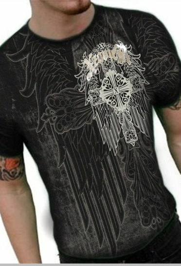 "Xzavier ""Spiritual Kingdom"" T-Shirt (Black)<!-- Click to Enlarge-->"