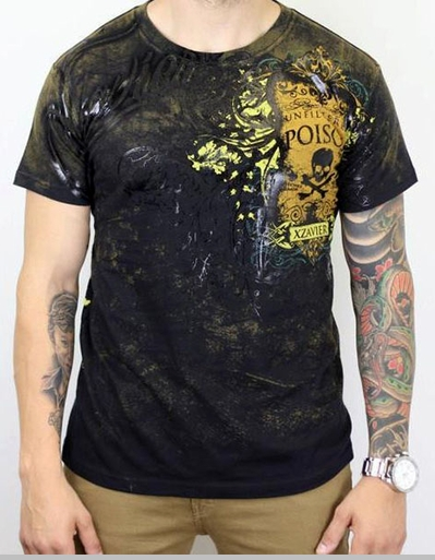 Xzavier Unfiltered Poison  T-Shirt (Black)<!-- Click to Enlarge-->