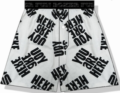 You Are Here Boxer Shorts