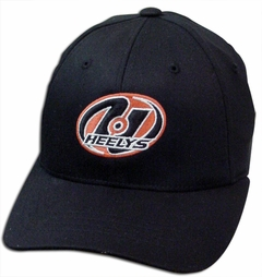Youth Size Heelys Fitted Baseball Hats (Black)