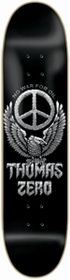 Zero Thomas Peace Skateboard Deck