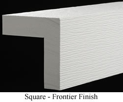 Square Cornerboard with Frontier Finish