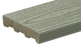Timbertech non capped composite deck boards free samples for Non wood decking boards