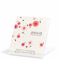 2018 Snow & Graham Desk Calendar