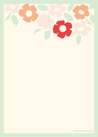 Bold Floral NotePad