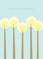Peace Candles, Box of 10