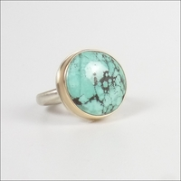 Small Round Turquoise