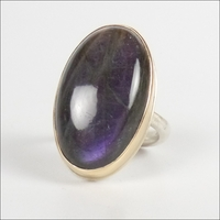 Smooth Oval Purple Labradorite