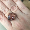 Smooth Red Rutilated Quartz