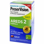 SALE! PreserVision AREDS 2 Vitamin & Mineral Supplement 120 Count Soft Gels