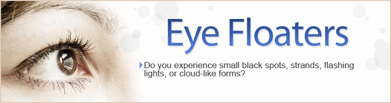 Eye Floater Symptoms - Treatment and Recommendations