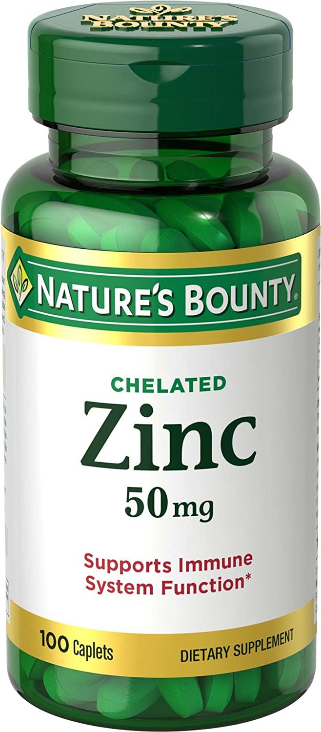 zinc bounty nature mg chelated caplets gluconate natures testosterone vitamins multivitamins does supplement ea milligrams immune boosting naturally hacks easy