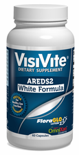 "VisiVite AREDS 2 No-Zinc ""White Formula"" Veg Caps with Natural Lutein and Zeaxanthin - one month supply"