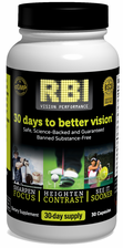 SALE! - R.B.I. Vision Performance® Nutritional Supplement - 30 Capsules