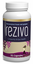 Reziva® resveratrol concentrated extract from French red wine grapes - 30 days supply