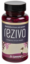 Reziva® resveratrol concentrated extract from French red wine grapes<br><strong>New 30 days supply</strong>
