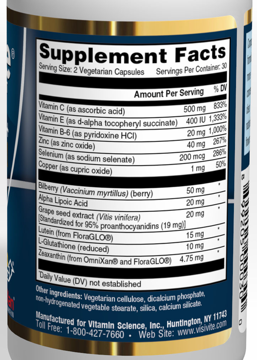 Lutein areds study results