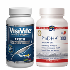VisiVite® AREDS2 Select and Nordic Naturals® ProDHA 1000 Bundle - 1 month supply