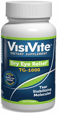 Dry Eye Relief®; TG-1000 Nutritional Formula - 120 Softgels