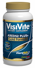 VisiVite® AREDS 2 PLUS+ Gold Eye Vitamin Formula. Premium, natural ingredients - 60 vegetarian capsules (one month supply)