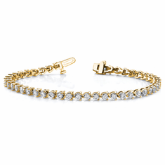 4 1/3ct Diamond Tennis Bracelet, 14k