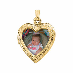 14k Gold Lockets