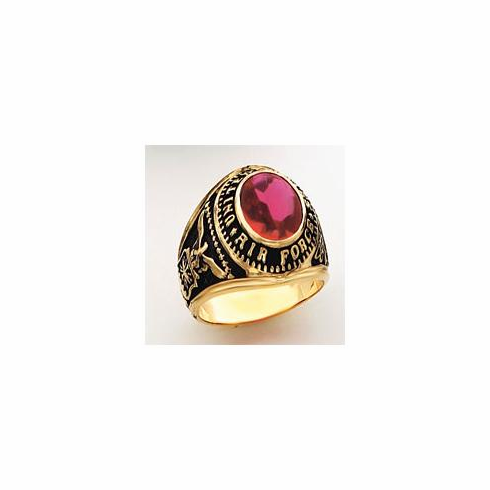 14k Gold United States Air Force Military Ring