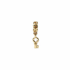 14k Reflections Key Dangle Bead