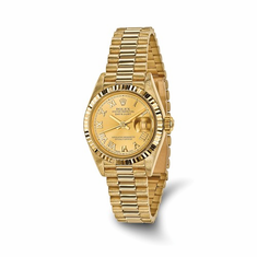 Certified Pre-owned Ladies Presidential Rolex Watch