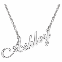 14k Gold Name Plate Jewelry