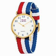 Jackie Kennedy American Flag Watch