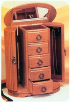 Jewelry Boxes, Valets, Armoires and Humidors