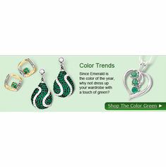 Shop Jewelry with The Color Green