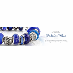 Sodalite Blue Collection Complete  Bead Bracelet