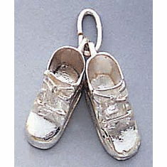 Sterling Silver Baby Charms & Jewelry