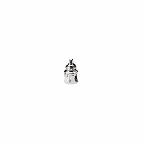 Sterling Silver Reflections Baby Bottle Bead