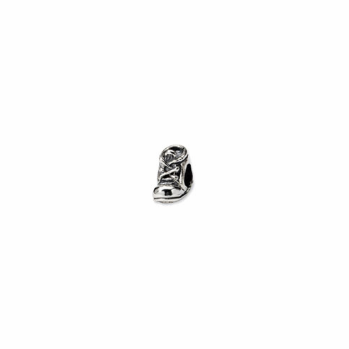 Sterling Silver Reflections Baby Shoe Bead
