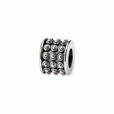 Sterling Silver Reflections Bali Bead
