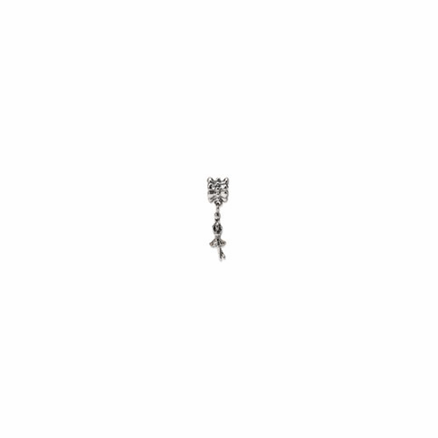 Sterling Silver Reflections Ballerina Dangle Bead