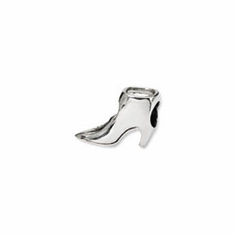 Sterling Silver Reflections Boot Bead