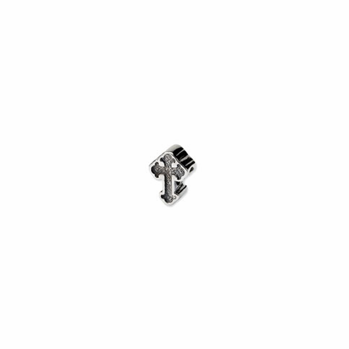 Sterling Silver Reflections Budded Cross Bead