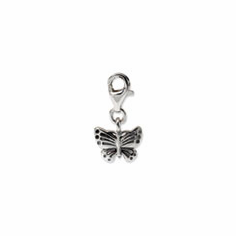 Sterling Silver Reflections Butterfly Click-on for Bead