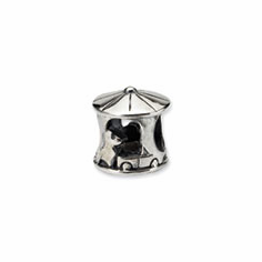 Sterling Silver Reflections Carousel Bead
